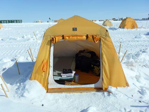 Arctic Oven tent. Made in Fairbanks, Alaska USA
