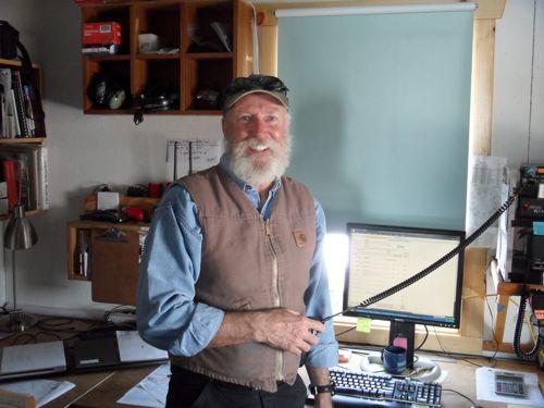 Summit Station manager, John Fonseca