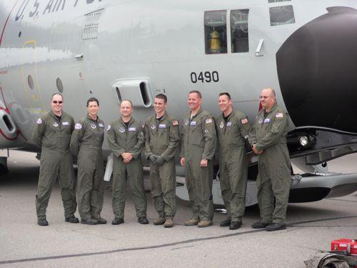 New York Air National Guard crew