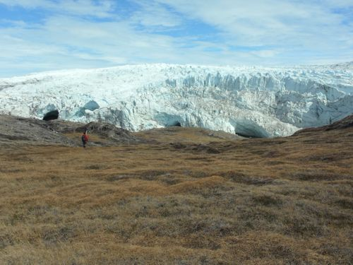 Hike to Russell glacier