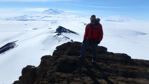 Castle Rock and Mount Erebus
