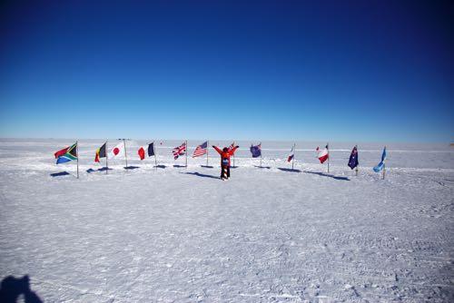 22 january 2017 the three south poles polartrec