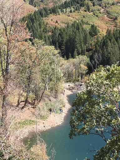 Tibble Fork Reservoir