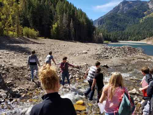 Measuring stream flow