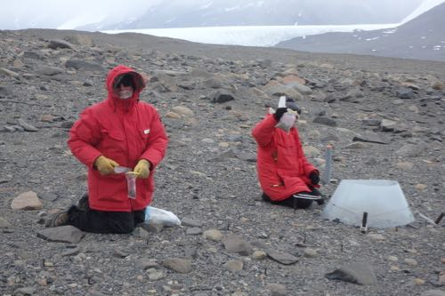 Conducting science in the Dry Valleys