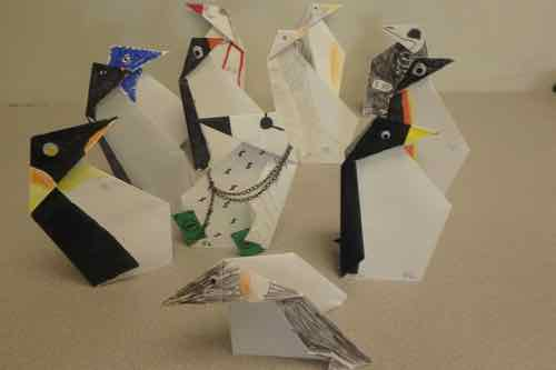 Origami Penguins