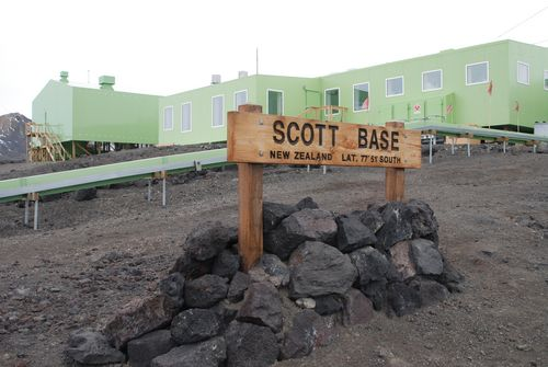 New Zealand's Scott Base