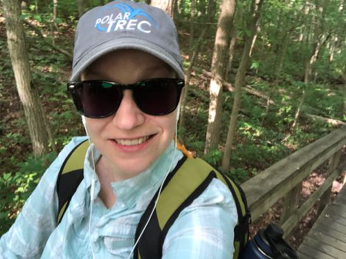 24 July 2018 Practice Hiking at Cheesequake State Park