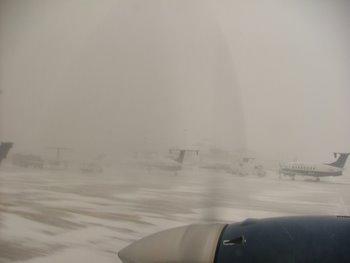 Snow storm in Denver