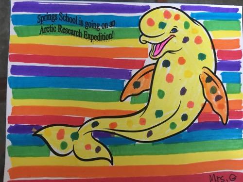 Arctic organism artwork!