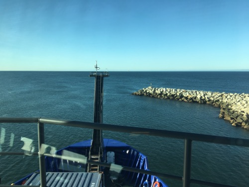 The R/V Sikuliaq departs Nome!