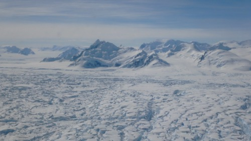 S. Peninsula  terrain