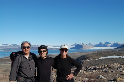 Vestre Lovenbreen glacier