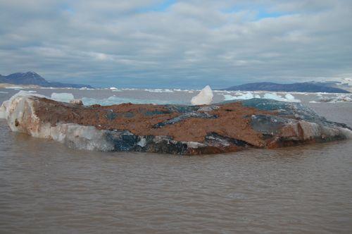 Muddy Iceberg