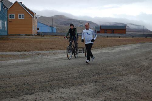 Morning Run in Ny Ålesund