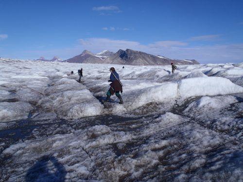 Kongsbreen glacier