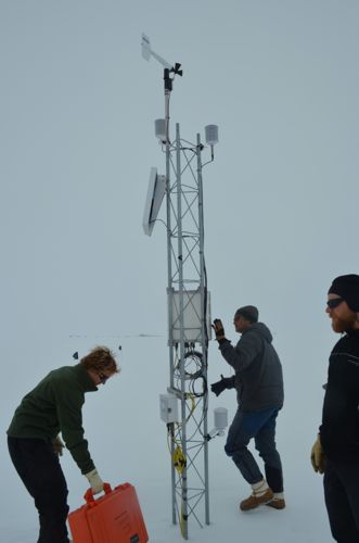 An automated weather system (AWS)