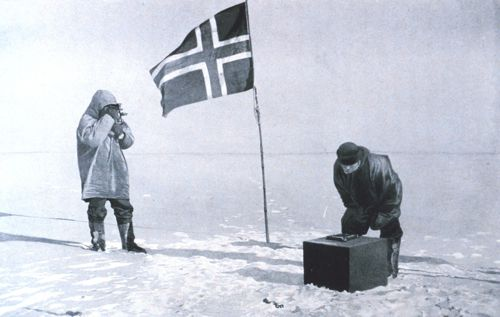 Amundson at the South pole