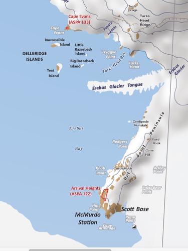 cape evans antarctica map 24 November 2015 Samples And History At Cape Evans Polartrec cape evans antarctica map