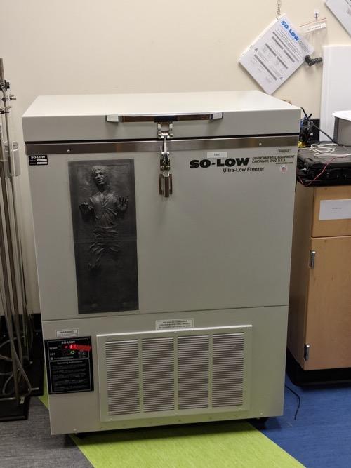 Test freezer
