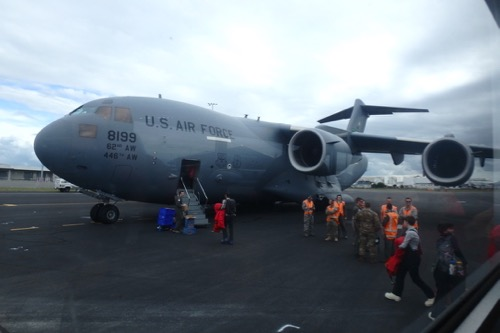 C-17 in Christchurch, NZ