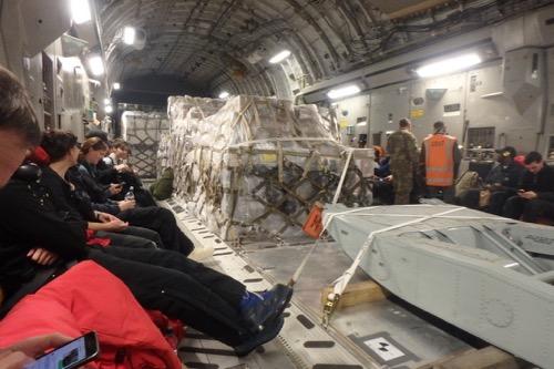 Inside C-17