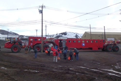 Kress in McMurdo Station, Antarctica