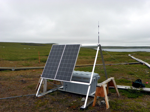 Solar Powered Trolley
