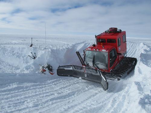 Snow Plow for Antarctic Traverse