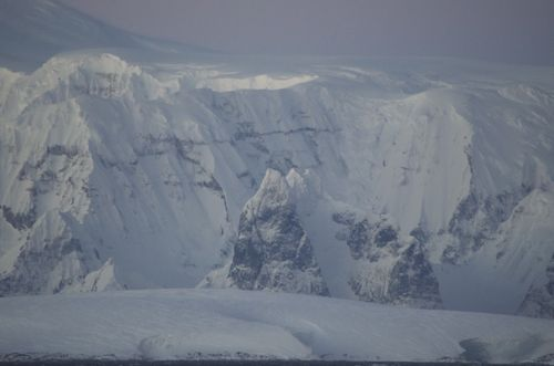 Mountains of the Western Antarctic Peninsula