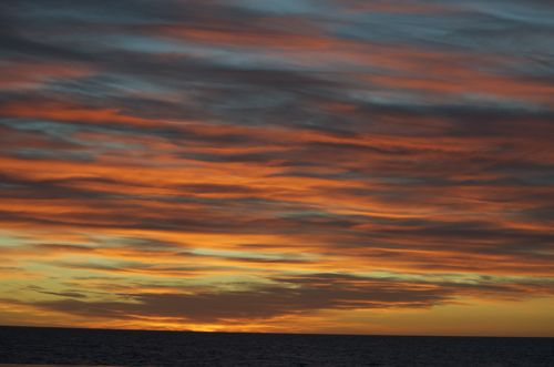 Sun set on the Southern Ocean