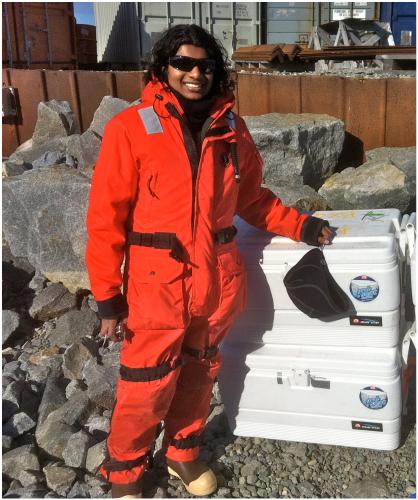 Mrina Nikrad, Palmer Station, Antarctica