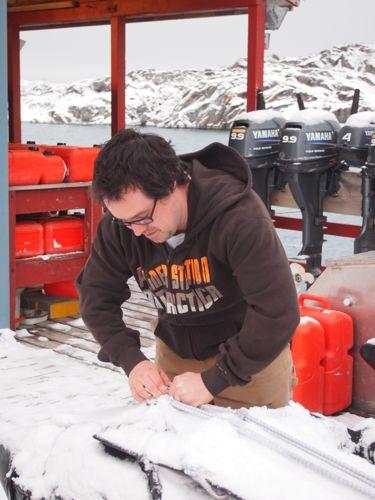 Tom Purcell, Palmer Station, Antarctica