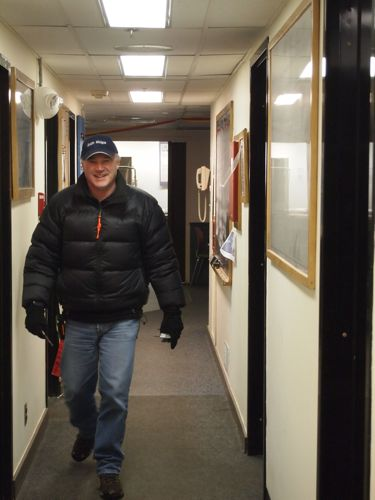 Bede McCormick at Palmer Station, Antarctica