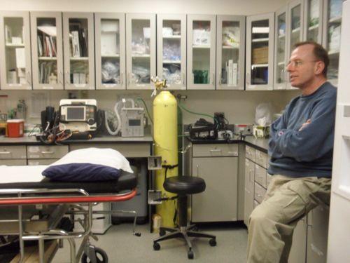 Dr. Steven Untracht in Antarctica