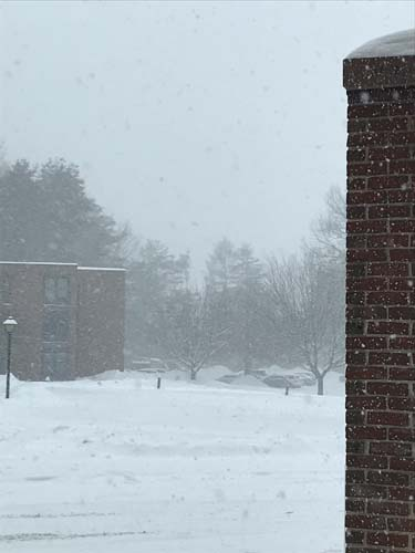 Snowy Day at Dartmouth College