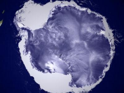 The Antarctic continent