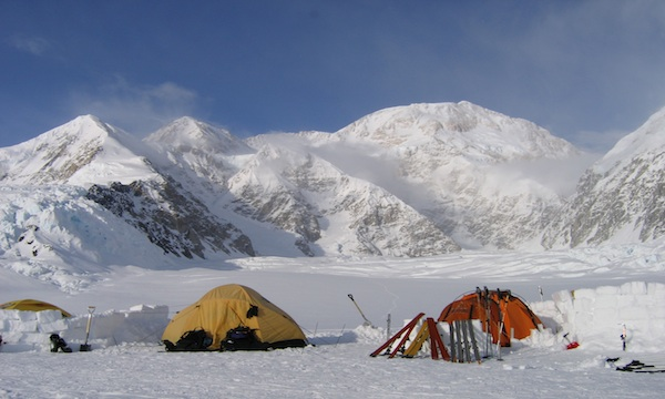 Camp 1 on Denali