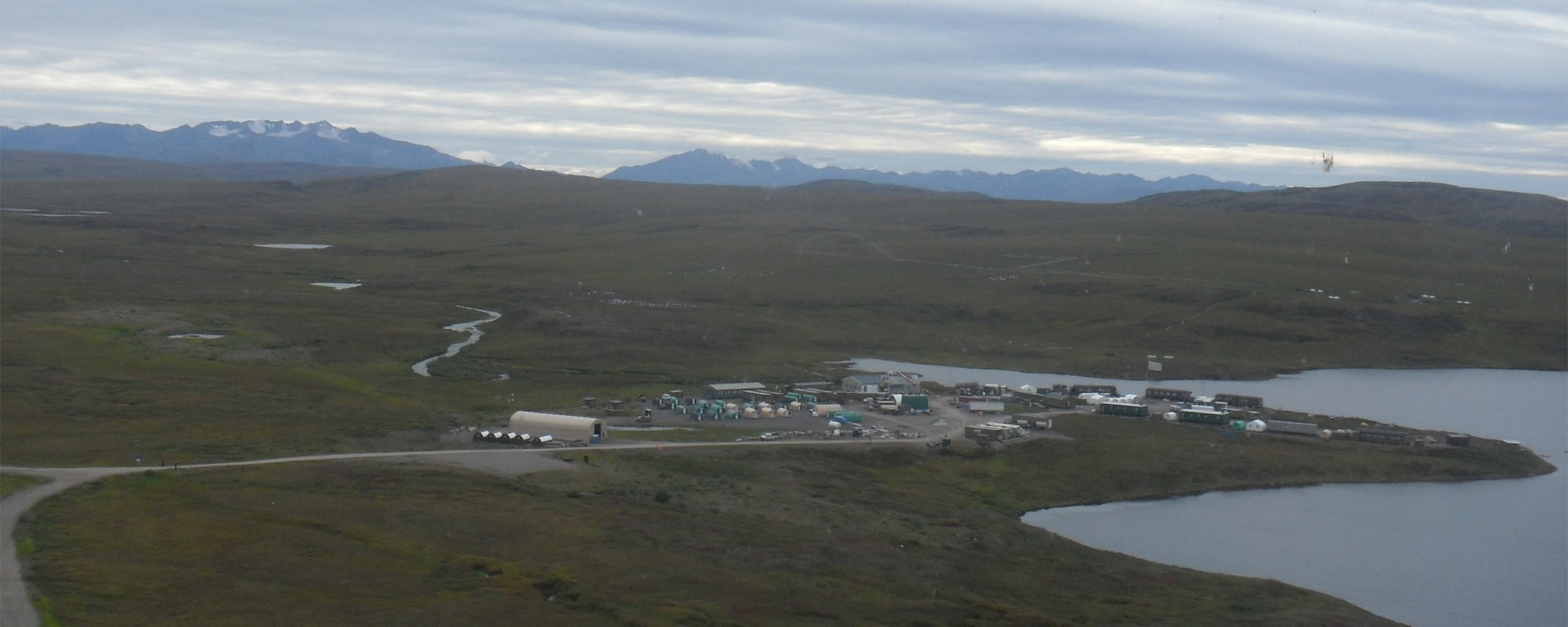 Toolik Field Station, Alaska.  Photo by Josh Dugat, courtesy of ARCUS.
