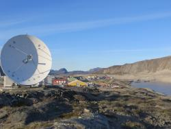 A view of Kangerlussuaq, Greenland. Photo by Emily Dodson.