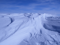 Snow Drifts on the West Antarctica Ice Sheet (WAIS), Antarctica