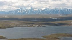 Toolik Field Station, Alaska. Photo by Lauren Watel.