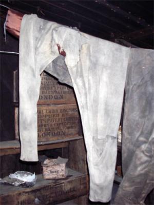 pants in hut