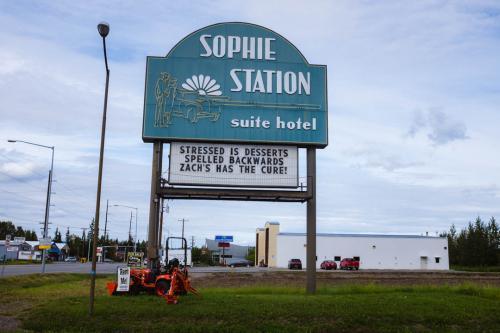 Sophie Station sign