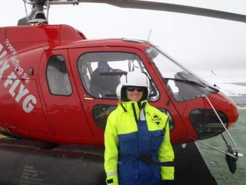 Oden Helicopter Ride