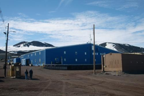 Outside view of building 155, where I lodged while in McMurdo Station.
