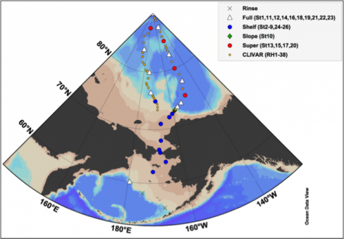 2015 US Arctic Geotraces Proposed Cruise Track