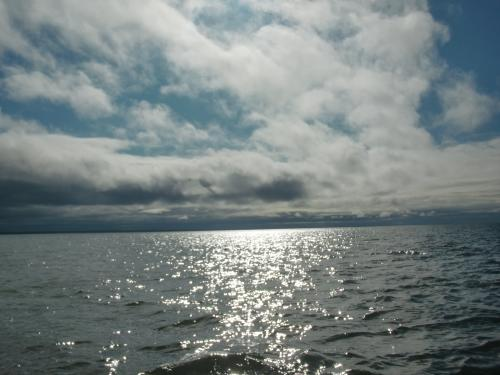 It turned out to be a beautiful day on the Beaufort Sea!