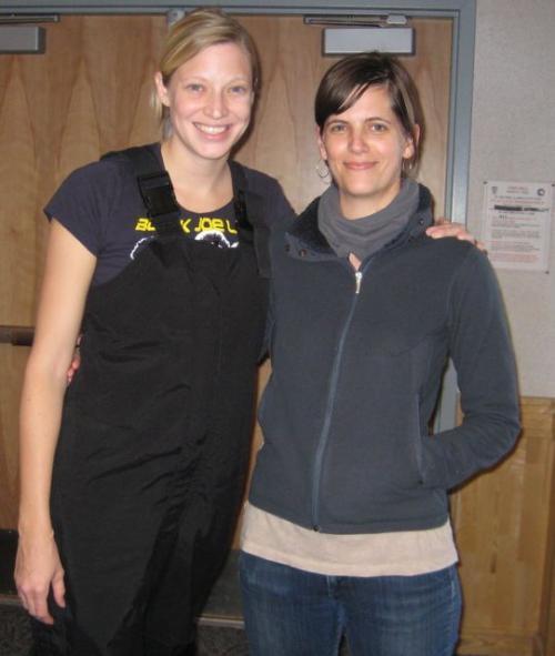 Katey and Julie Katch