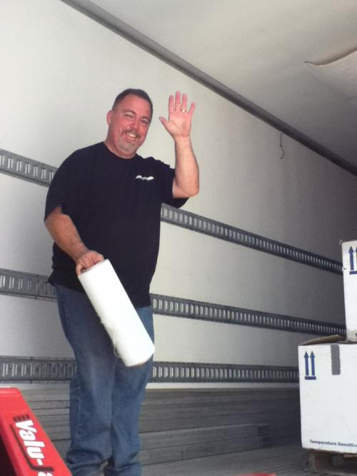 Truck driver Paul